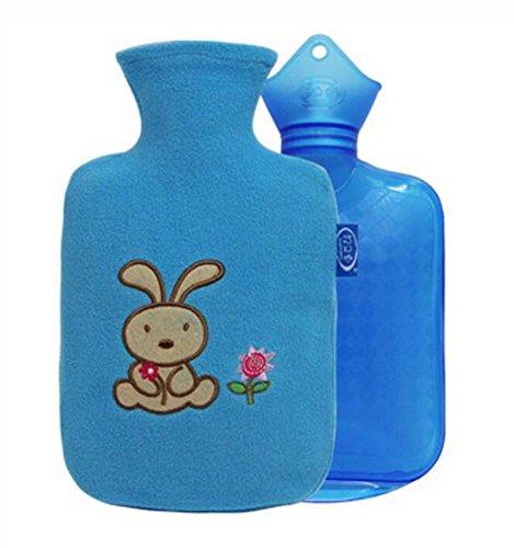2016 Neue Art-klassische Kind-heiße Wasser-Flasche u. Handwärmer 800 ML, Blau