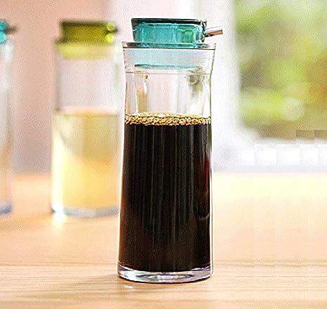 Einfache Öl kann die Menge hochwertigen Kunststoff Küchenzubehör Soja-Sauce Flasche Essig Flaschen ( Farbe : Grün )