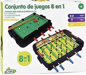Conjunto De Juegos 8 en 1: Amazon.es: Juguetes y juegos