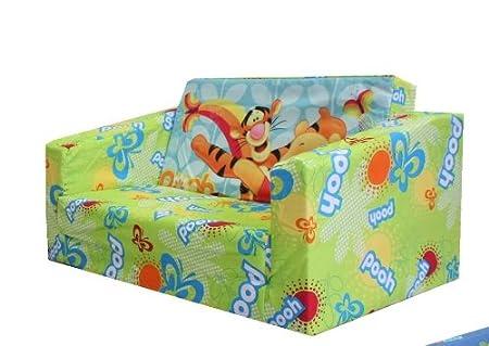 Official Disney Winnie The Pooh Childrenu0027s Flip Out Sofa Foam Filled