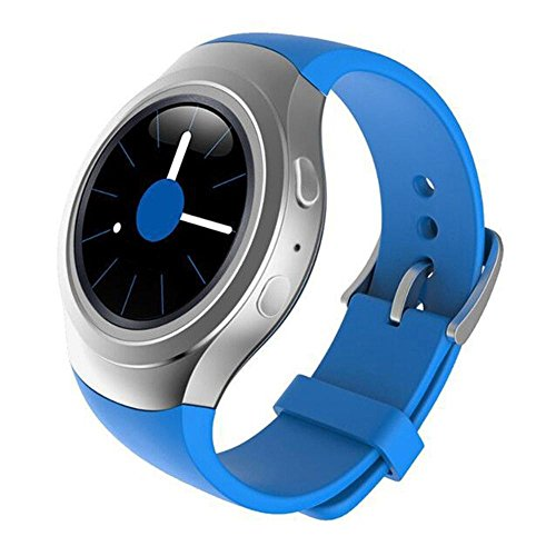 Price comparison product image Kobwa Soft Silicone Sport Strap Fashion Watch Band Replacement Wristband for Samsung Galaxy Gear S2 SM-R720 Smart Watch