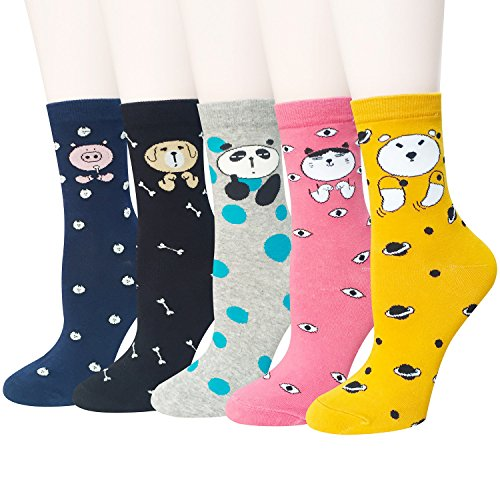 Chalier Womens Animal Colorful Casual
