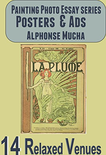 Posters & Ads: Alphonse Mucha (Painting Photo Essay Book 14)