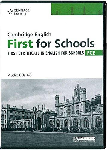 Practice Tests for Cambridge FCE for Schools Audio CDs by Cengage Learning EMEA