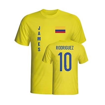 huge discount fe840 bcdf0 Amazon.com : Gildan James Rodriguez Colombia Flag T-Shirt ...