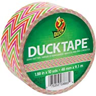 The Dial 280978 Colored Duct Tape 1.88 X 10 Yds 3 Core Zig Zag by Shurtech Brands