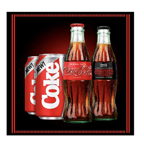 - Stranger Things Coke Limited Edition Collector's Pack