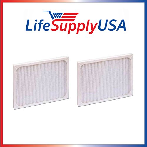LifeSupplyUSA 2 Pack Replacement Filter to fit Hunter 30920 30905 30050 30055 30065 37065 30075 30080 30177