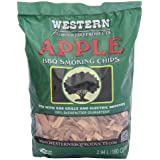 WESTERN 28065 Apple BBQ Smoking Chips, 2.94 L