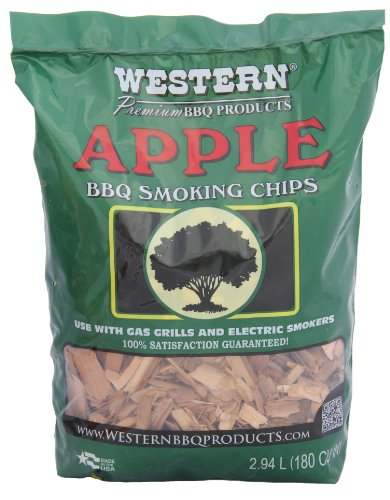 WW Wood inc WESTERN 28065 Apple BBQ Smoking Chips, 2.94 L
