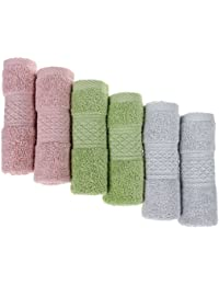 Take 100% Natural Cotton Wash Cloths Ultra Soft & Absorbent , Commercial Grade , Multipurpose Dish Cloths 13inch X... dispense