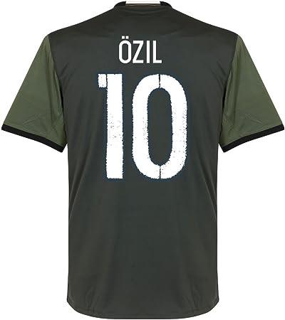Alaska Estéril Dejar abajo  adidas De Alemania Özil Camiseta 2016 2017, Hombre, Caqui: Amazon.es:  Deportes y aire libre