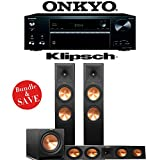 Klipsch RP-280F 3.1-Ch Reference Premiere Home Theater System with Onkyo TX-NR676 7.2-Ch 4K Network AV Receiver
