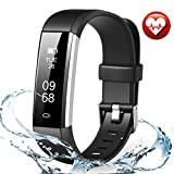 FITMAKER Fitness Tracker, Activity Tracker Watch Heart Sleep Monitor, Smart Pedometer Watch Step Distance Calories Track