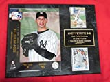 Yankees Andy Pettitte 2 Card Collector Plaque #6 w/8x10 Photo