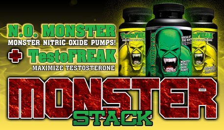 Monster Pump (#1 RATED NITRIC OXIDE PRODUCT. Colossal Labs N.O. Monster Stack, powerful pumps and enhance muscle gains by Colossal Labs N.O. Monster)