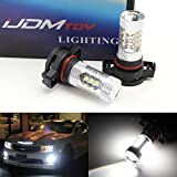 iJDMTOY Max 80W High Power CREE Q5 XP-E LED 360-degree shine 5202 H16 LED Bulbs For Fog Lights or Daytime Running Lights, Xenon White