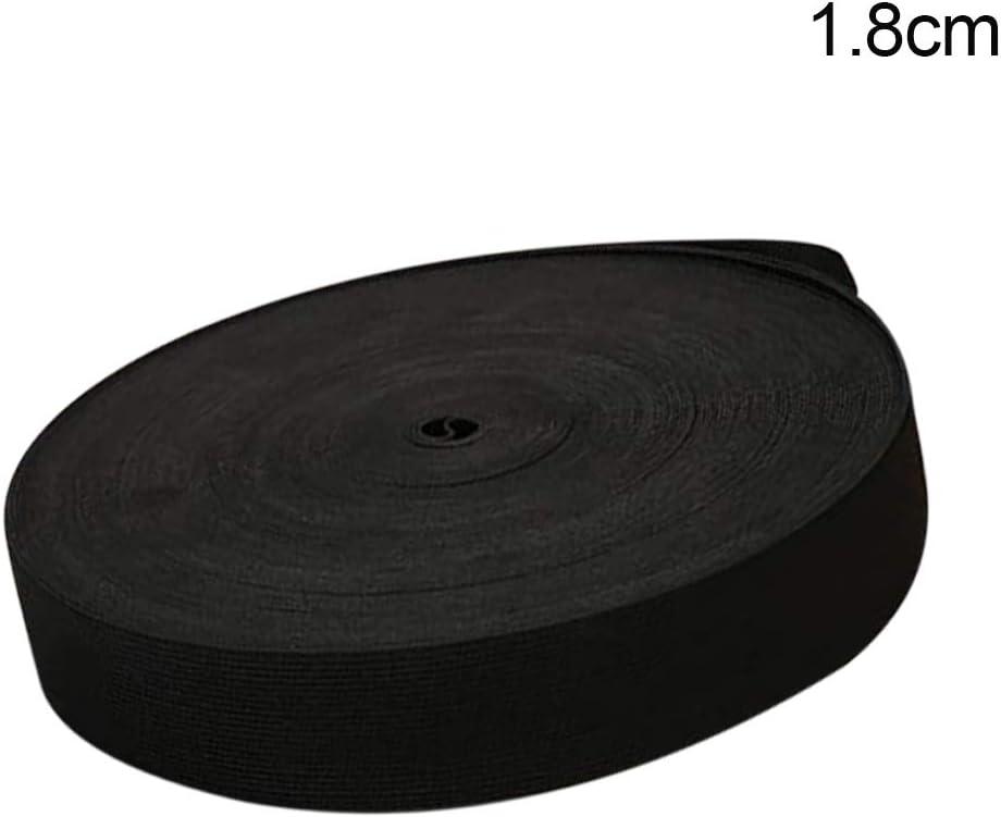 cinta de goma trenzada con agujeros XinXiang 40 m cinta el/ástica para coser cordones el/ásticos ajustables