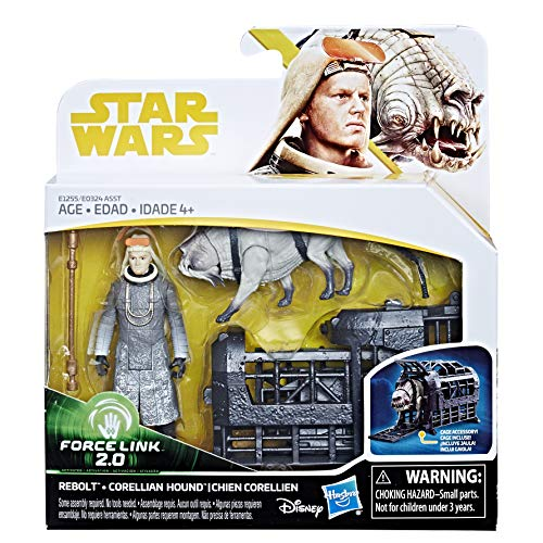 Star Wars Rebolt and Corellian Hound - Force Link 2.0 Action Figures (Street Fighter 3 New Generation)