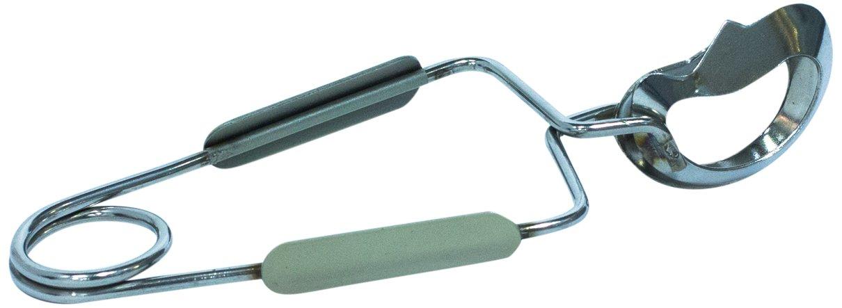 Saveur et Degustation ka1368Stainless Steel Snail Tongs 15.50X 5.50X 1.3cm CMP Paris