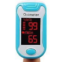 Pince à doigt Pulse oxymètre, Accueil oxygène saturation moniteur pouls rythme cardiaque mètre, OLED affichage doigt sang oxygène