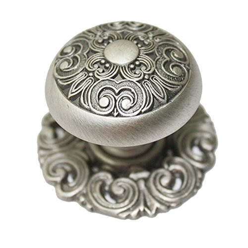 (JC Handle 40mm Large Cabinet Drawer knob Pull Home Kitchen Handle Antique Pewter)