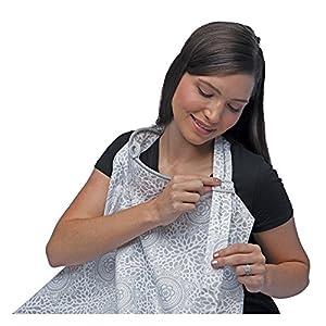 Boppy Nursing Cover for Breastfeeding, Boho Gray