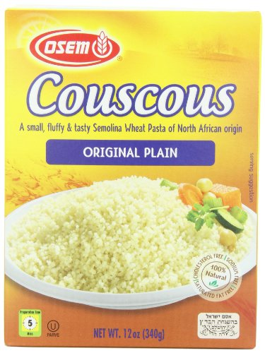 Osem Couscous North African, 12-ounces (Pack of12) by Osem