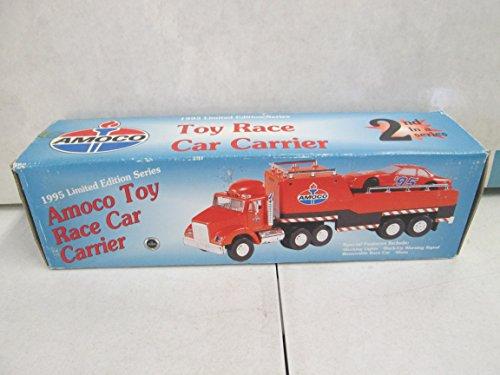 Amoco 1995 Toy Race Car Carrier