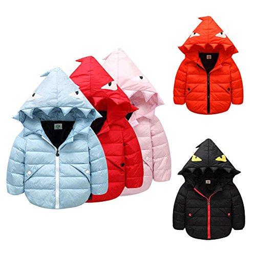 Meijunter Boys Girls Funny Cute Down Jacket Kids Warm Car...