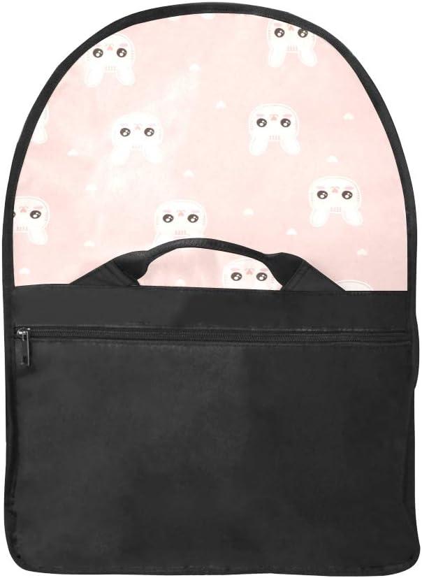 Men Briefcase Laptop Cartoon Cute Cat Multi-Functional Ladies Satchel Handbags Fit for 15 Inch Computer Notebook MacBook