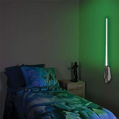 Uncle Milton - Star Wars Science - Lightsaber Room Light - Luke Skywalker: Toys & Games