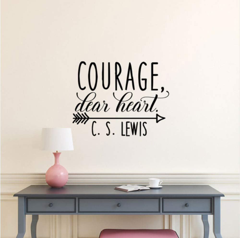 Dalxsh Courage Dear Heart Cs Lewis Tatuajes De Pared Inspirados ...