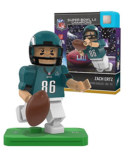 Zach Ertz OYO Philadelphia Eagles Super Bowl Champs Generation 4 G4 Minifigure Super Bowl Toy