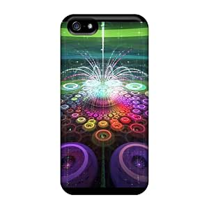 For Iphone Case, High Quality Fractal Fountain For Iphone 5/5s Cover Cases