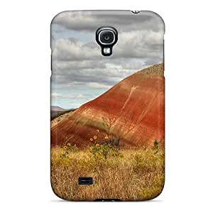 Series Skin Case Cover For Galaxy S4(lone Painted Hill)