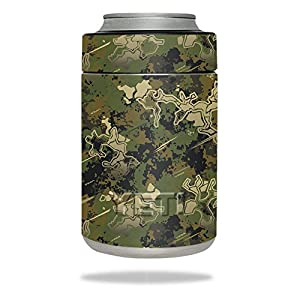 MightySkins Skin For YETI Colster - Viper Woodland | Protective, Durable, and Unique Vinyl Decal wrap cover | Easy To Apply, Remove, and Change Styles | Made in the USA