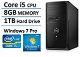 2016 New Edition Dell Vostro High Performance Flagship Business Desktop, Windows 7/10 professional, Intel Core i5-4460 up to 3.4GHz, NVIDIA GeForce GTX745, 1TB HDD, DVD Drive, HDMI, VGA
