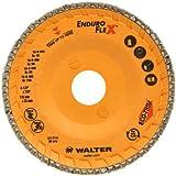 Walter Enduro-Flex Abrasive Flap Disc, Type 29, 4