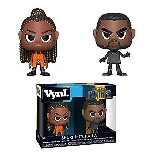 51yHOVpd0GL. SS300 Funko 34967 Vynl: Black PantherShuri & T'challa, Multicolor