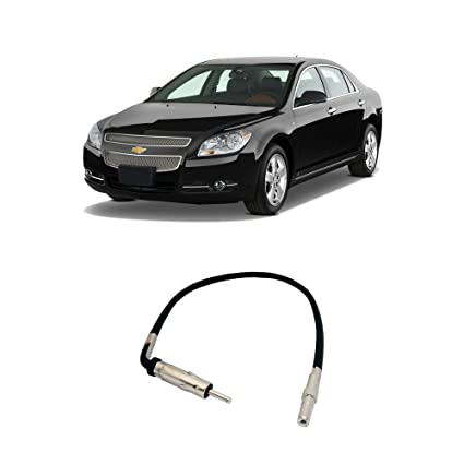 Fits Chevy Malibu 2008-2012 Factory Stereo to Aftermarket Radio Antenna  Adapter Plug
