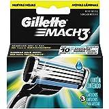 Carga para Aparelho de Barbear Gillette Mach 3 - 3 unidades