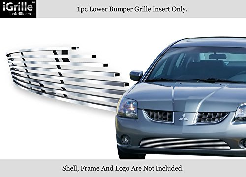 APS Compatible with 2004-2006 Mitsubishi Galant Ralliart Stainless Steel Bumper Billet Grille U67210C