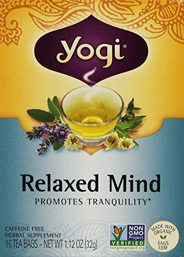 Relaxed Mind Yogi Teas 16 Tea Bag