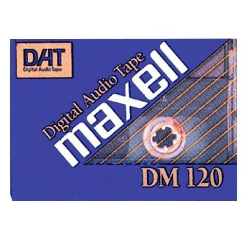 Maxell R-120DM DAT Audio Cassette (1-Pack)