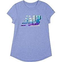 New Balance Girls' Short Sleeve Graphic Tees
