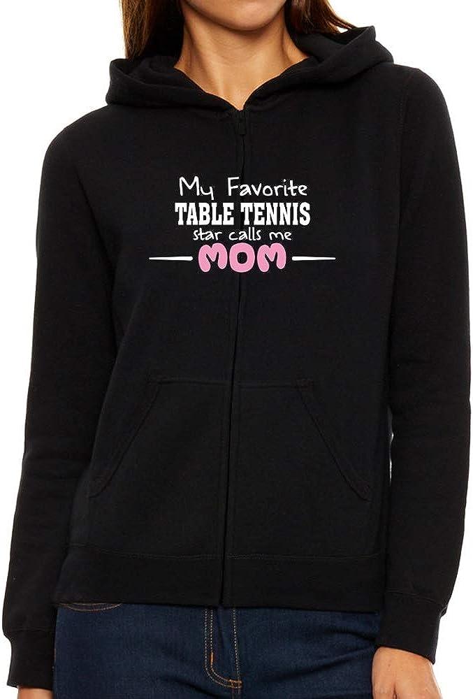 Eddany My Favorite Tennis Star Calls me mom Women Hoodie