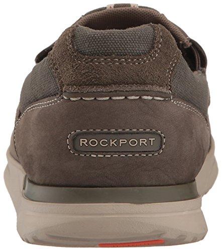 Rockport Mens Langdon Slip On Oxford Breen Leather bNnbCxe