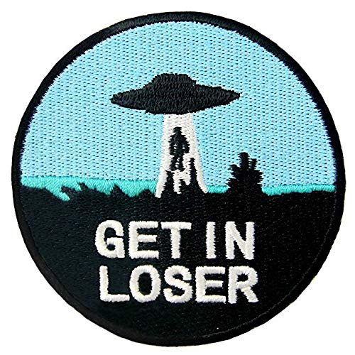 Antrix Get in Loser Military Morale Patch Hook & Loop Tactical Funny Patch -Dia.3.15