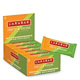 green bars - Larabar Gluten Free Bar, Fruits + Greens Pineapple Kale Cashew, 1.24 oz Bars (15 Count)